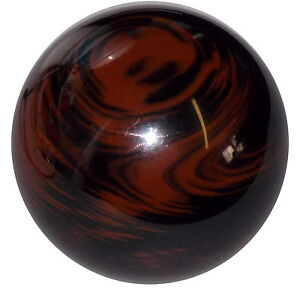 Marbled Black Brown Shift Knob 5 16 24 Thread U S Made