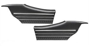 1970 Gto Lemans Sport Coupe Black Rear Door Panels By Pui