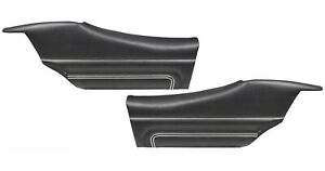 1971 Gto Lemans Sport Coupe Black Rear Door Panels By Pui