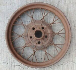 Early 1928 Ar Model A Ford 21 Inch Wire Spoke Wheel Original 5 Lug