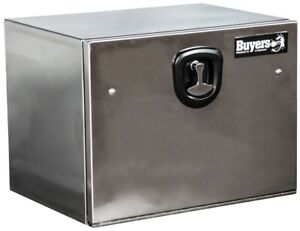 Buyers Products 18 X 18 X 24 Underbody Truck Tool Boxes Polished Stainless Steel