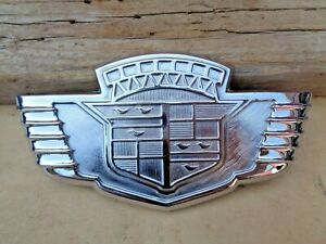 1942 Cadillac Trunk Emblem Original Gm