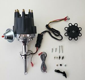 Small Cap Hemi Early 392 1957 58 Pro Series Black Hei Distributor Chrysler Mopar