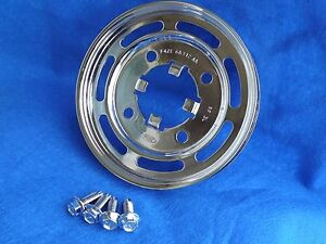 Chrome Oem 94 95 Mustang Gt Cobra Saleen Crank Pulley Bolts 5 0