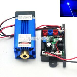 12v Dot Blue Laser Module 445nm 450nm 1 5w W Pltb450 Diode Long time Working