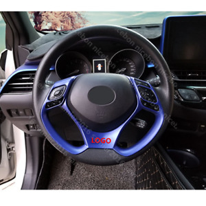 Blue Steering Wheel Cover Trim Fit For Toyota C hr Chr