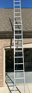 Extension Ladder Aluminum 24 Ft Type I Werner D1324 2