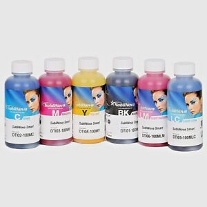 Inktec Sublimation Ink sublinova Smart 6 Color Set 100ml Each