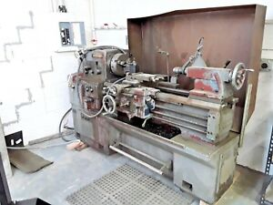 Roger Bourgets Mori Seiki Ms 850 Engine Lathe And Metal Turning Machine