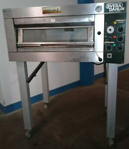 Gemini Sveba Dahlen Dc 12 dd Commercial Electric Single Deck Steam Bakery Oven