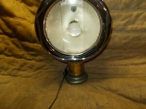 Vintage Auto Headlight Re Purposed To House Light Stearns Knight