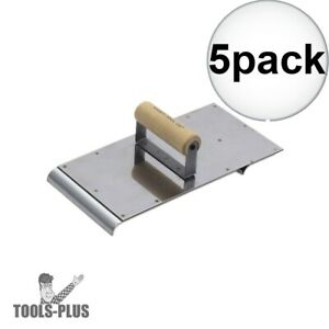 Kraft Tool Cf656 Decorative Concrete Border Edger Groover Tool Stainless 5x New
