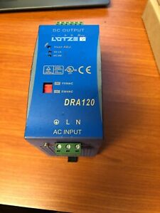 Chinfa Lutze Dra120 24fpb Power Supply 24 Vdc 5 Amp Tested