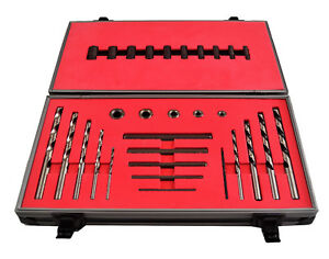Screw Extractor Left Right Hand Drill Set 30 Pc Bolt Stud Remover Harlingen