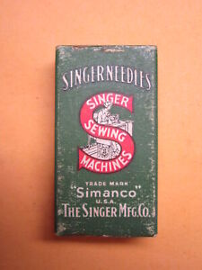 100 Singer Wheeler Wilson 126x1 126x3 Sewing Machine Needle Sz 20