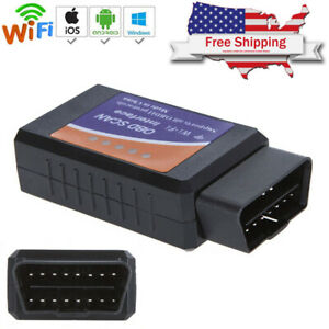 Elm 327 Wifi V1 5 Obd2 Obdii Car Diagnostic Scanner Code Reader For Ios Android