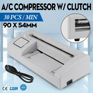 Automatic Business Card Slitter Cutter Cutting Machine 110v Office Advanced Tech