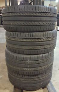 4 New Continental Contisportcontact 5 265 45 20 Set Of 4