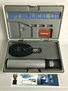 Heine Beta 200 Otoscope Diagnostic Set F o Ophthalmoscope With C Battery Handle