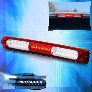 For 97 03 Ford F150 F250 Heritage 3rd Brake Red Clear Led Cargo Stop Light Lamp