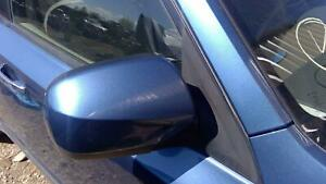 2009 2010 Subaru Forester Passenger Rh Power Door Mirror Blue