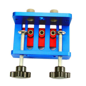 High Precision Joinery Dowel Jigs Kit 3in1 Drilling Locator Woodworking Tool