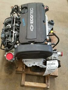 2012 Chevy Cruze 1 8 Engine Motor Assembly 46 000 Miles Luw No Core Charge