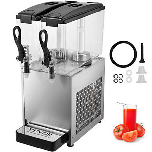 Commercial Beverage Dispenser Family Coffee Cold Drink Multifunction Orange