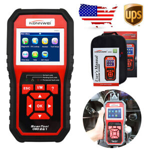 Us Kw850 Car Obd2 Obdii Eobd Can Diagnostic Scanner Code Reader For Bmw Benz