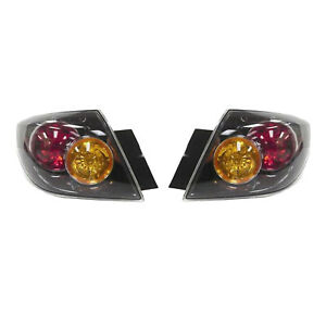 New Pair Of Tail Lights Fit Mazda 3 Hatchback 2005 2006 Bn8f 51 160d Bn8f51160d