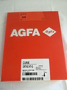 Agfa Drystar Curix Ortho Ht g Dry Medical Film Pack 100 Nif 24x30