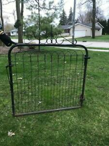 Vintage Iron Garden Architectural Decorative Gate Neat