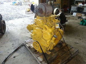 Caterpillar 3054t Turbo Diesel Engine Runs Exc Video Perkins 1004 Jcb Cat