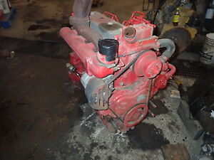 Perkins 1004 42 Diesel Engine Runs Mint Stress Block Jcb Massey 4 2 Cat 3054