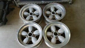 Nice Vintage Set Of 15x7 American Racing 200s Mag Wheels Ford Mustang Daisy Amc