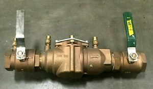 Watts 2 Double Check Valve Assembly Model 007 M1 175 Psi 19968 Asse 1015