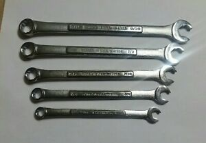 5 Craftsman Combination Speed Wrench Set 5 16 9 16 Va 47850 47855