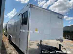 Office Trailer 85x24 Enclosed Trailer Job Site 8 Ft Front 16 Ft Rear