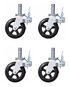 8 Scaffolding Caster Wheel Set Of 4