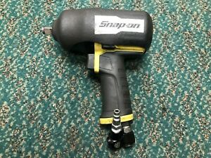 Snap On 1 2 Inch Drive Air Impact Green Excellent Used Fast Free Ship