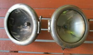 1920 S 30 S Vintage Cowl Light Pair Cadillac Buick Cm Hall Light Co 6 1 2