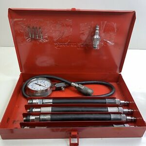 Snap On Tools Compression Tester Set With Metal Box Kra124a