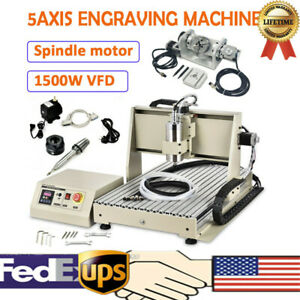 Cnc 6040 Router Engraving 5 Axis Engraver Usb Port Metal Carving 1500w 600 400mm