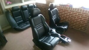 04 10 Bmw E60 M5 Black Complete Set Of The Seats Interior Seat 530 545 550