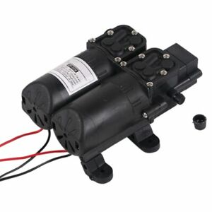 12v Dual Motor Return Pump Electric Sprayer Water Pump Home Garden Boat