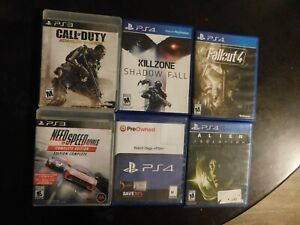 Playstation 3 4 Game Lot
