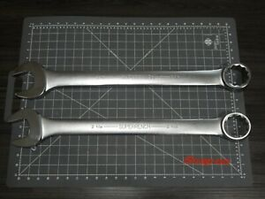 New Williams Large Wrench 2pc Lot 2 1 16 2 1 8 1921 1922 By Snap On Industrial