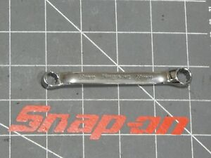 New Snap On Tools Short Offset Double Box Wrench 8mm 9mm Xsm89a 12pt