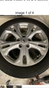 5 Lug Ford Wheels And Tires Complete Set