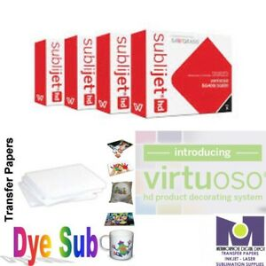 Dye Sublimation Ink Set Cmyk For Sg400 sg800 Virtuoso 100 Sh Dye Sub Paper